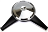 1970-1972 Camaro Dual Snorkel Air Cleaner with Chrome Lid