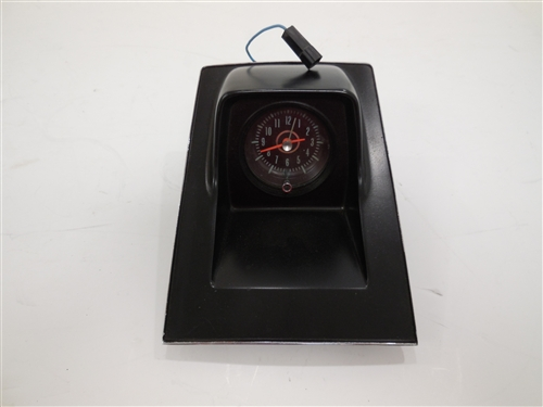 1968 1969 Camaro Console Clock Gm Original Used