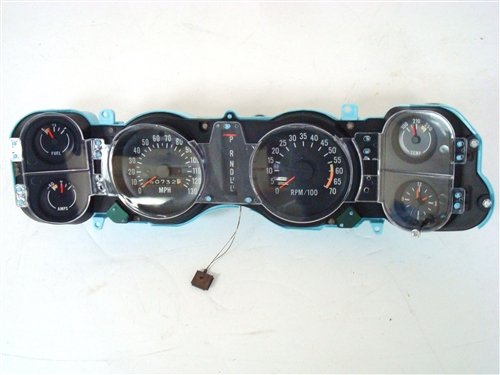1973 1974 Camaro Dash Instrument Cluster Assembly With