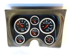 1967 - 1968 Camaro Dash Instrument Cluster Housing Assembly with Gauges Auto Meter, Choice of Gauge Style