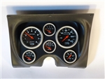 1967 - 1968 Camaro Custom Dash Instrument Cluster Housing with Auto Meter Sport Comp - Mechanical Gauges