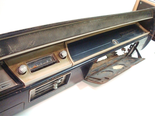 1966 Chevelle Tach and Gauge Dash Assembly, Original GM Used