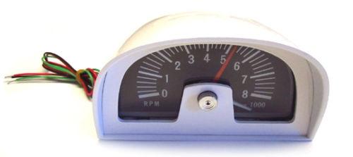 1960s - 70s Hood Tach    Tachometer Dixco Style