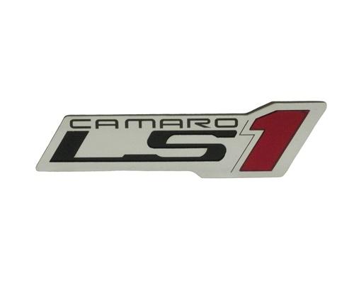 custom emblem camaro ls1 logo peel and stick. Black Bedroom Furniture Sets. Home Design Ideas
