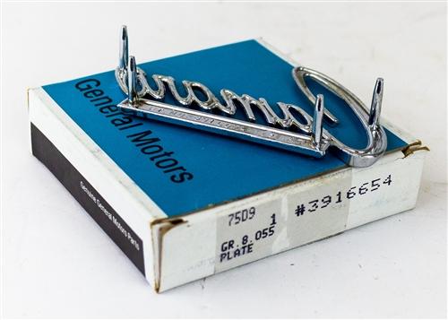 1968 1969 camaro emblem for header panel or trunk deck. Black Bedroom Furniture Sets. Home Design Ideas