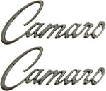 "1968 - 1969 "" Camaro "" Script Fender Emblems - Pair"
