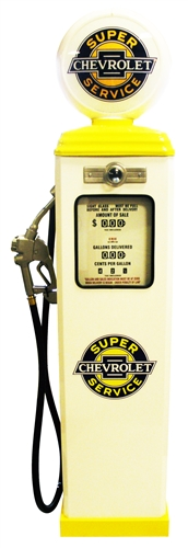 Gas Pump Super Chevrolet Service Classic Full Size Replica