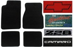 2000 Carpeted Floor Mats Set with Custom Embroidered Logos & Custom Colors