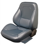 1967 - 1968 Camaro Pro Touring II Reclining Pre-assembled Front Bucket Seats, Procar Standard Interior Pattern, PAIR.
