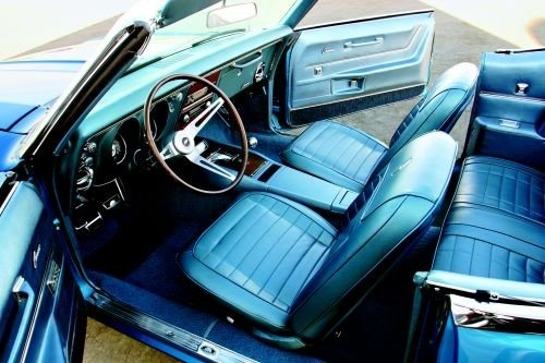 1968 Camaro Interior Kit Deluxe Convertible