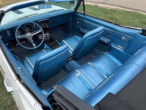 1967 Camaro Deluxe Interior Kit Convertible Stage 2