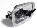 1978 - 1981 Camaro Park Light Lens and Housing Assembly, Z28, Chrome Trim Bar Included, Each
