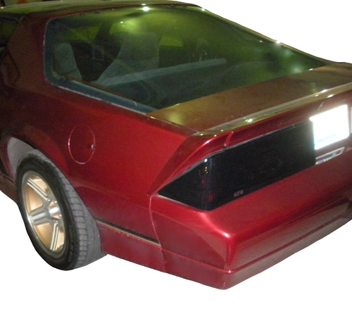1985 1989 Camaro Blackout Covers Set Tail Lights Iroc