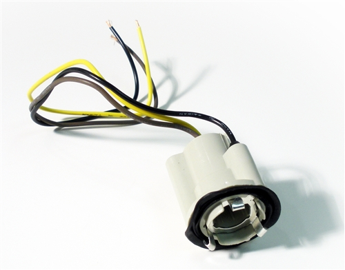 1969 1977 camaro tail light socket with wiring lead for 1969 camaro backup light wiring 1968 camaro backup light wiring schematic #1
