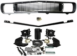 1969 Camaro Rally Sport Grille Kit, OE Factory Style