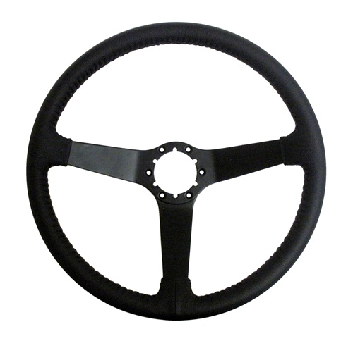 1967 1989 Camaro Steering Wheel Black Leather Custom