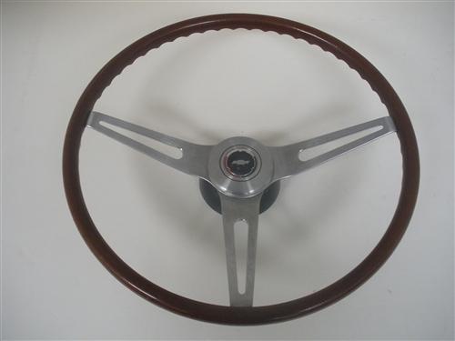 1969 Camaro Steering Wheel Assembly Rosewood Woodgrain