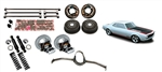 1967 - 1969 Heidts Rear 4-Link Base Kit