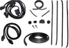 1970-1981 Rubber Weatherstrip Kit Hardtop with Round Chrome Bead Window Felts