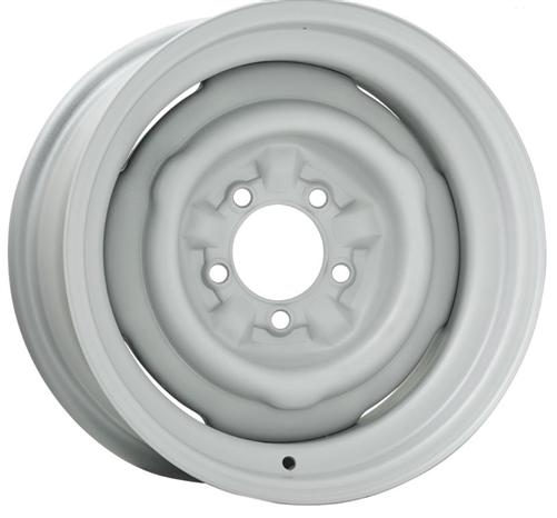 Stock Steelie Copo Style Dog Dish Wheel 14 X 7 Rim Only