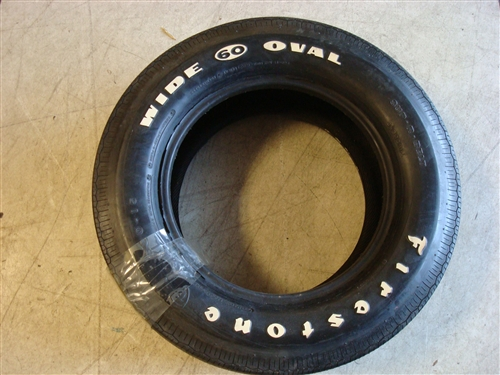 Firestone Wide Oval F60 X 15 Tire Vintage Nos
