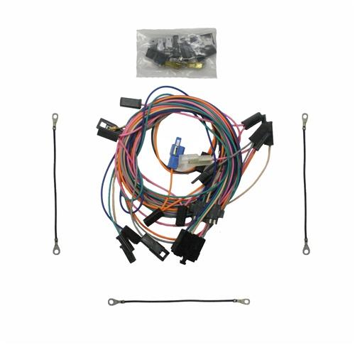1968 1969 camaro console wire harness  with custom