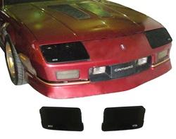 1985 1989 Camaro Blackout Headlight Covers Set For 85