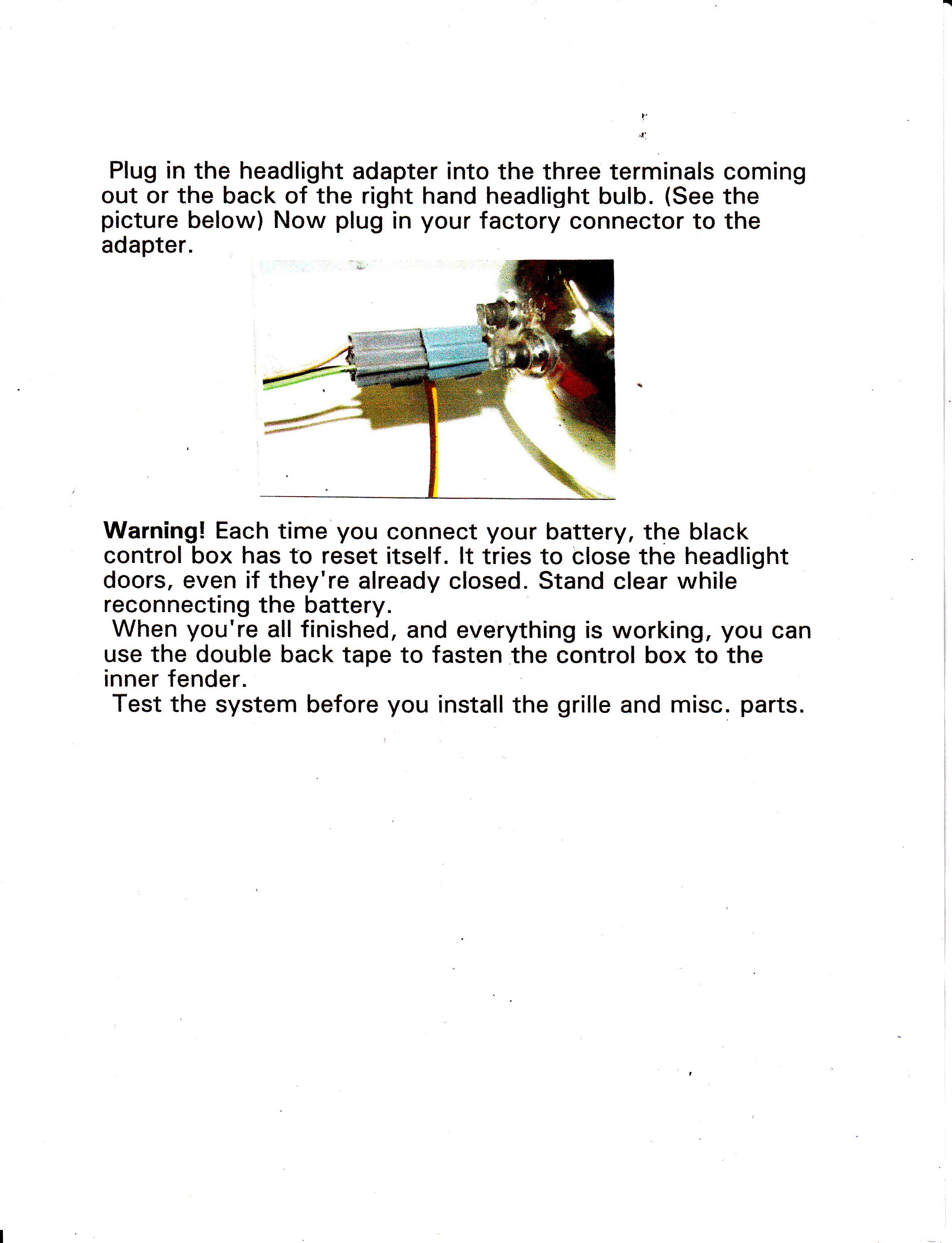 1967 1968 Camaro Rally Sport Grille Kit Move By Hand 67 Rs Wiring Diagram Limit Switch 3 A Few Helpful Diagrams