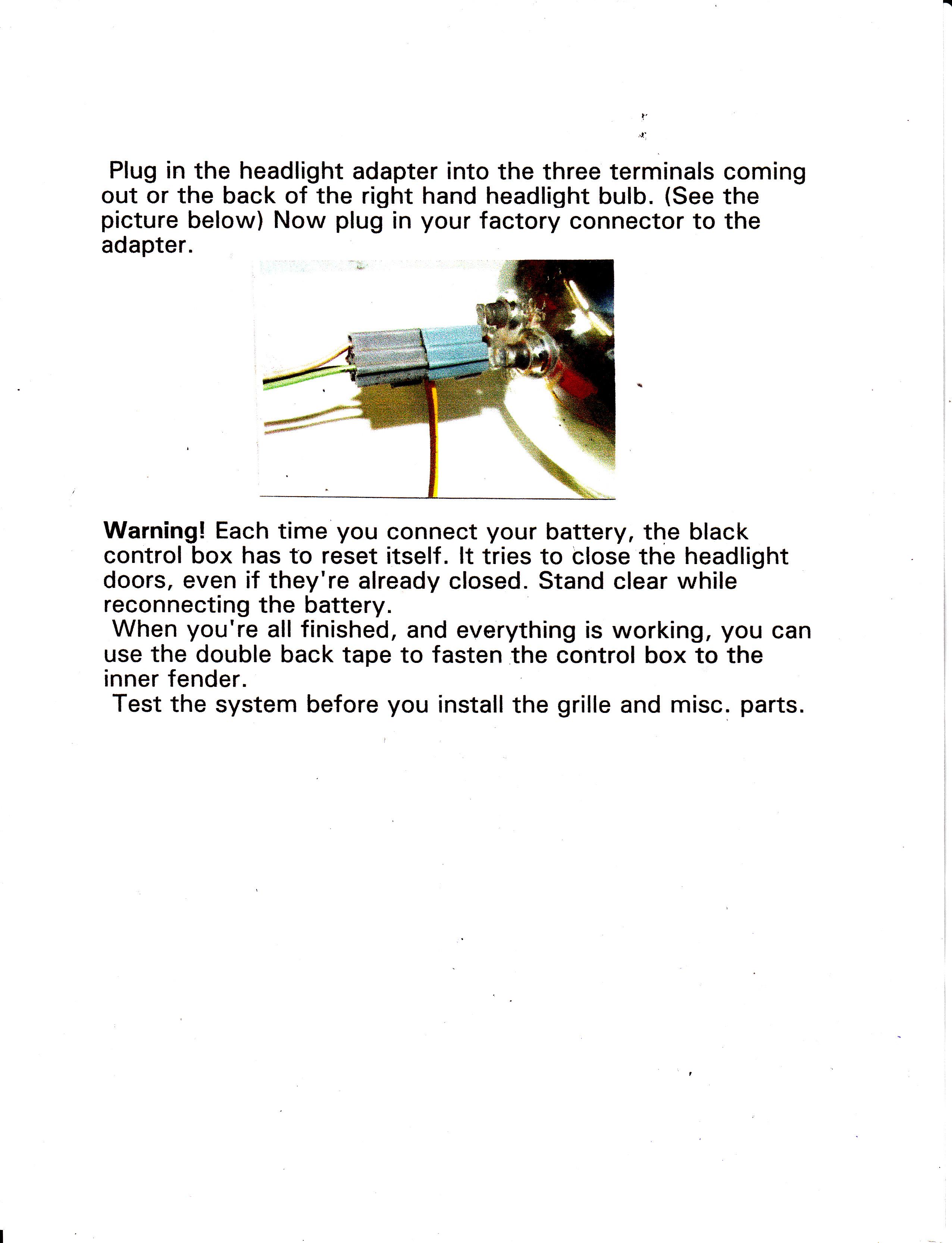 1967 Camaro Headlight Wiring Diagram - Wiring Diagram