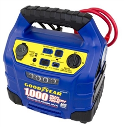 Goodyear Portable Power Pack 1 000 Peak Amp Jump Starter