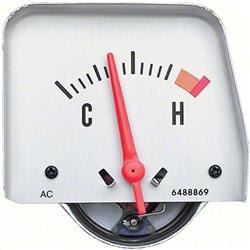 1968 1969 camaro console temperature gauge, 6489836