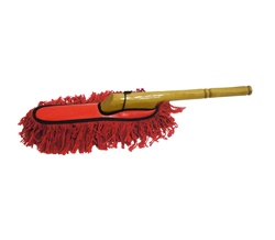 car duster with wood handle california duster style. Black Bedroom Furniture Sets. Home Design Ideas