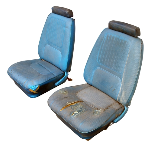 1970 Camaro Front Bucket Seat Assembly Set, Pair, GM ...