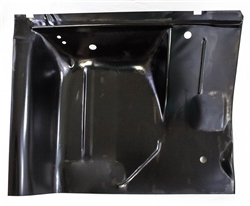 1967 1969 camaro lh under rear seat section floor panel for 1967 camaro floor pan replacement